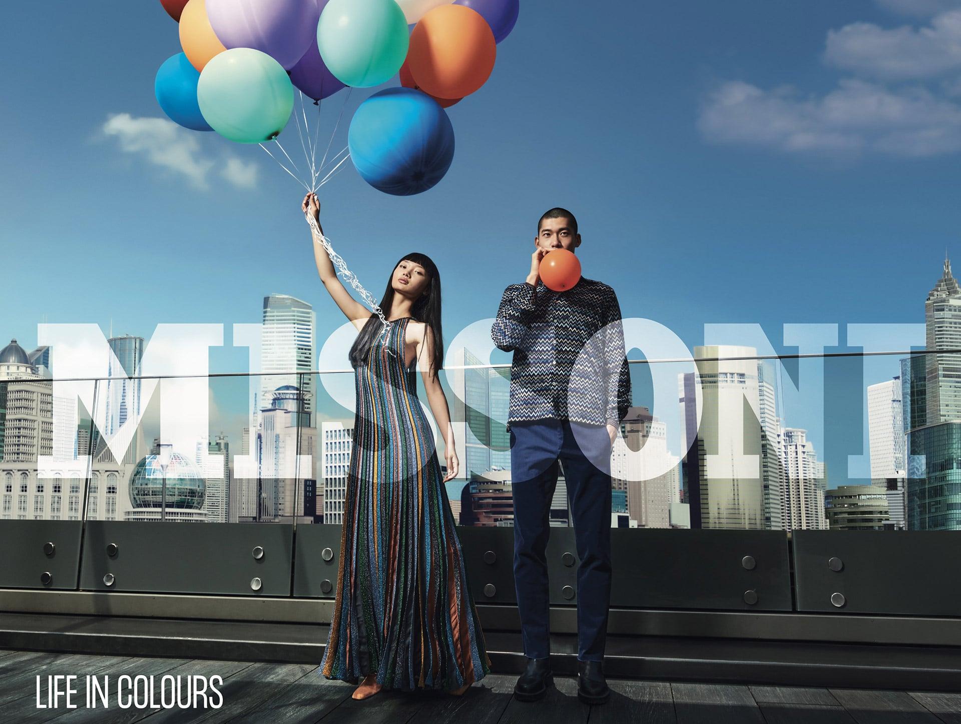 MISSONI balloons